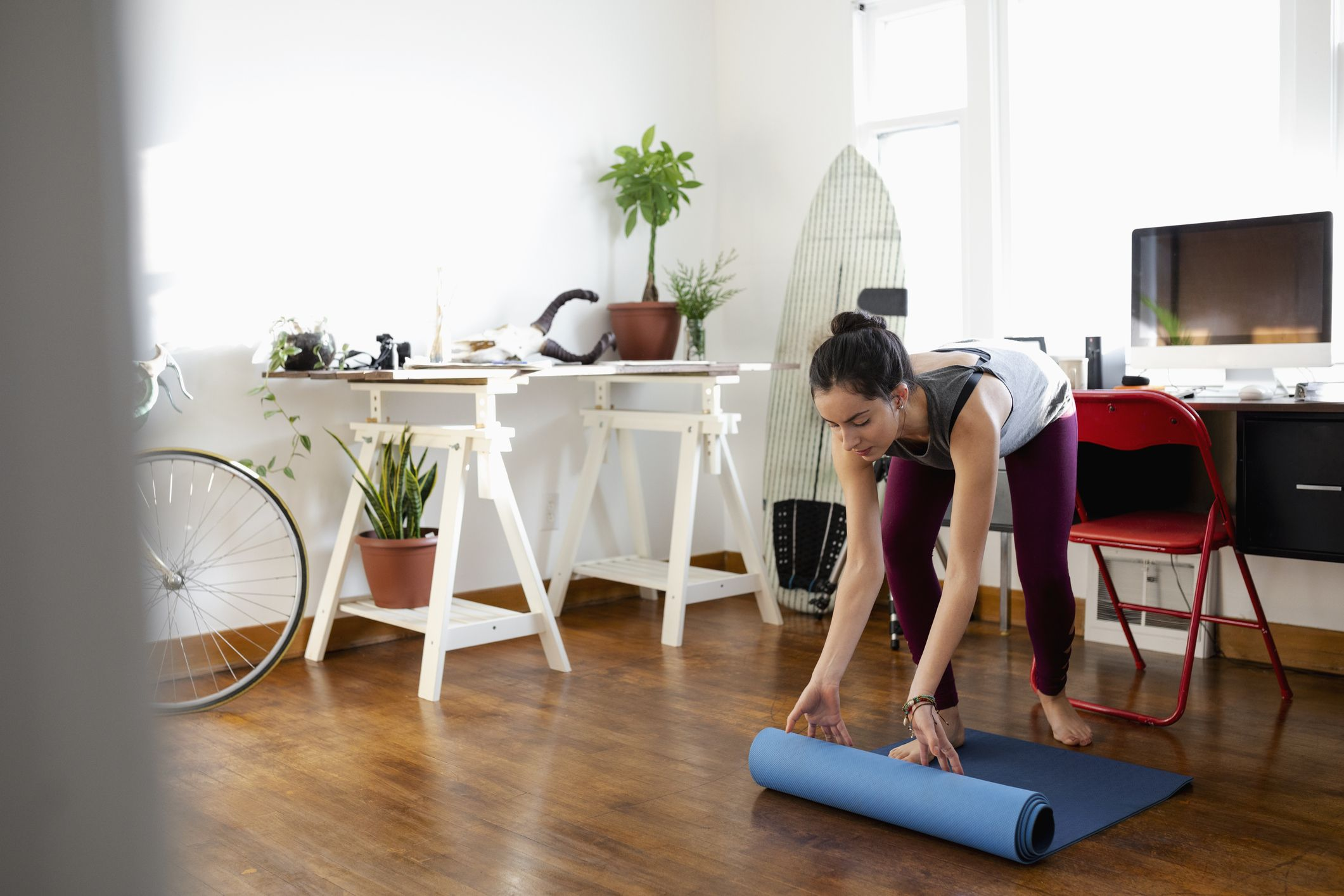 Here's Exactly How to Clean Your Yoga Mat