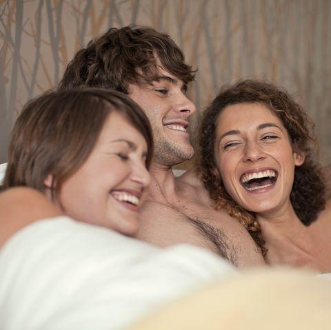 Three way sex positions