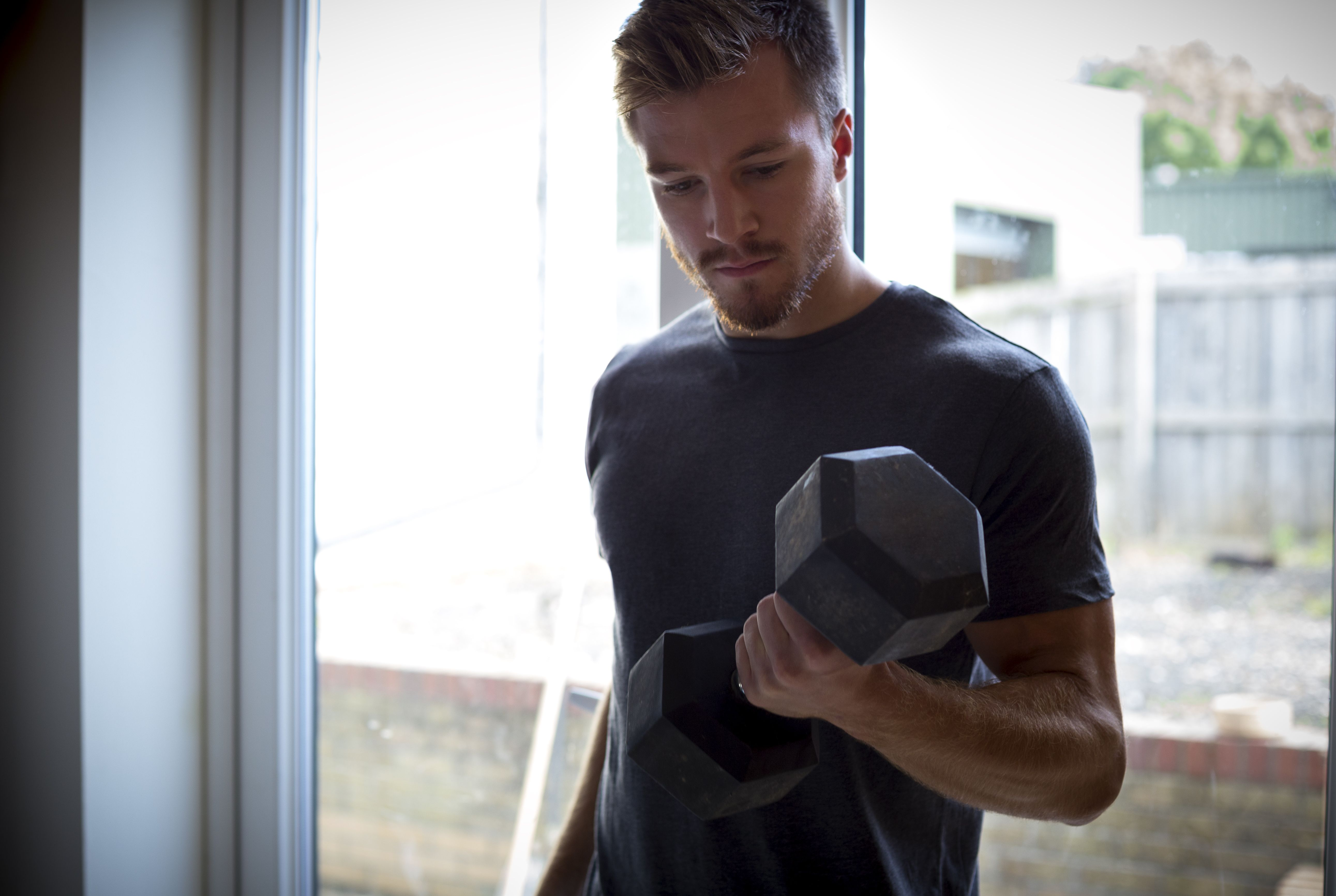 Get Ripped at Home With This Simple Dumbbell Workout