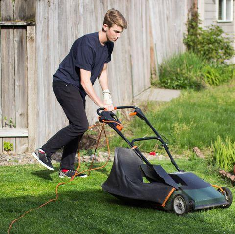 Best Summer Jobs for Teens - Lawnmower