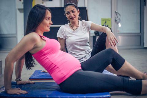 curso preparación parto para controlar el dolor