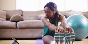 exercise for beginners - women's health uk