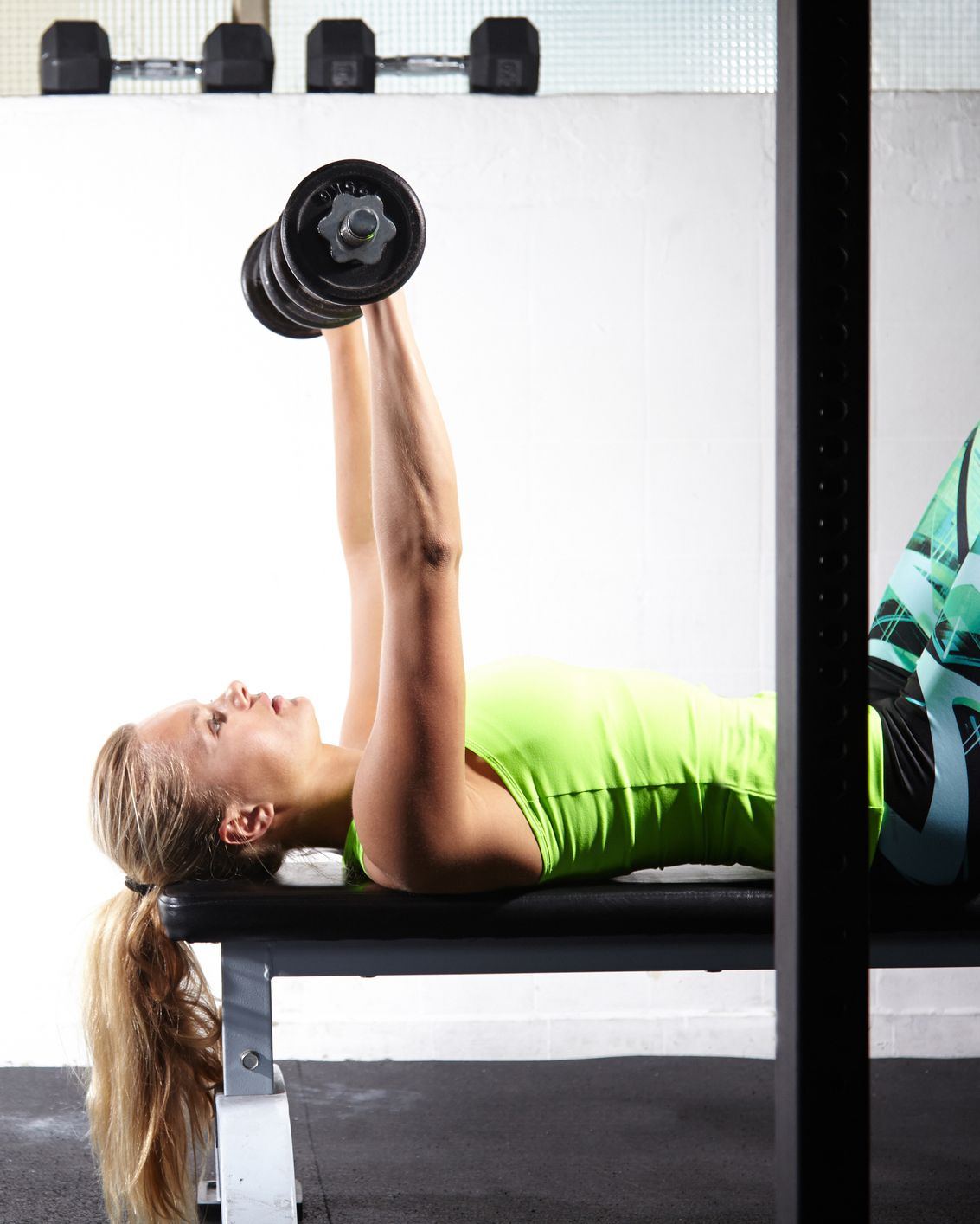Don't hoard the weights.