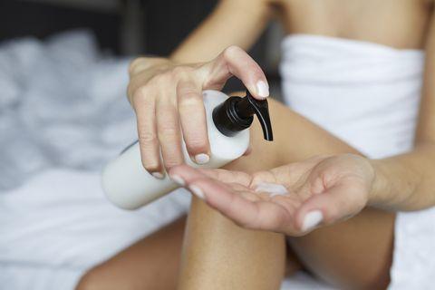 cosméticos cantidad adecuada eficacia