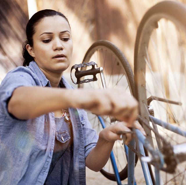 bicycle repair at home