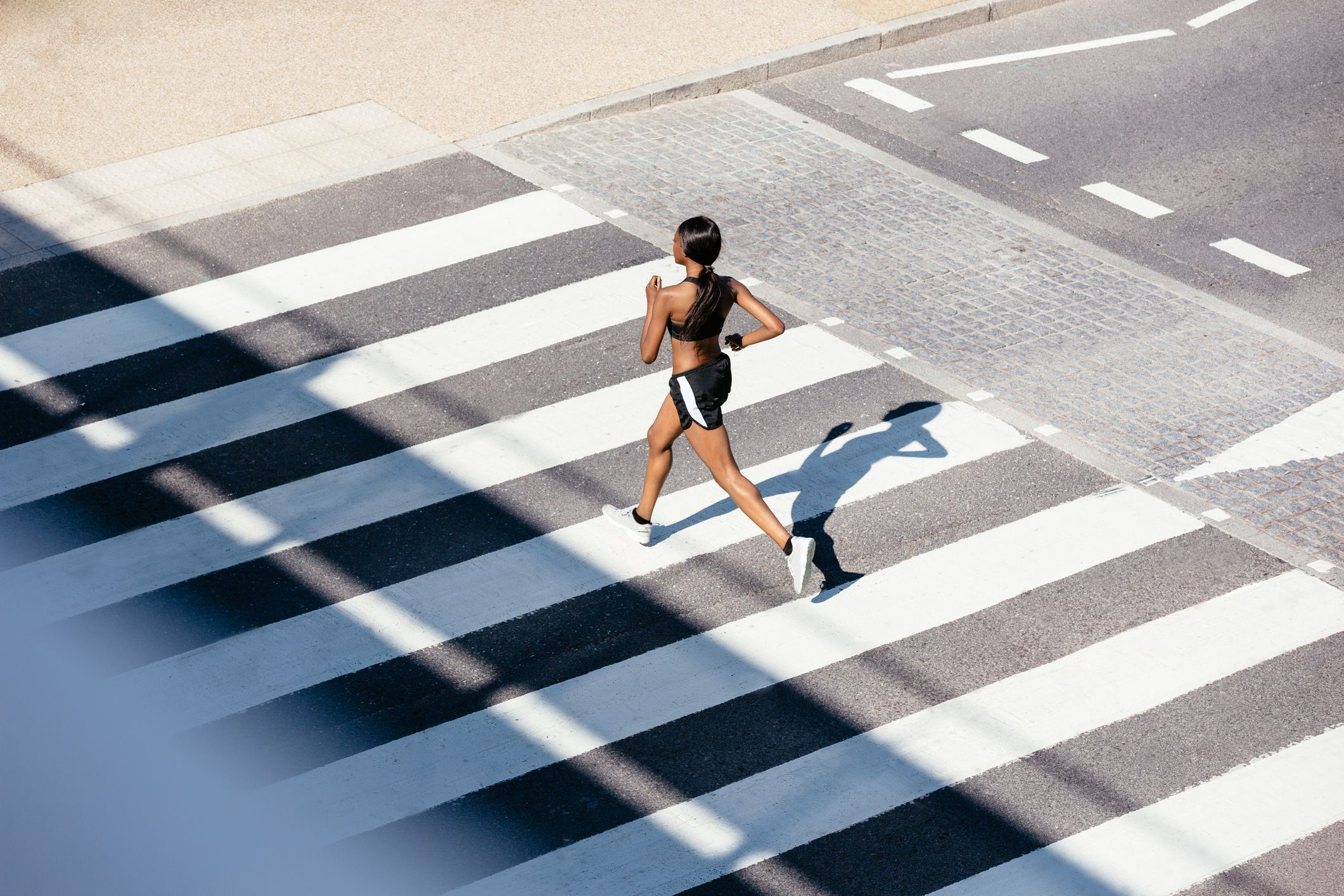 What happens to your body when you run in temperatures over 20ºC