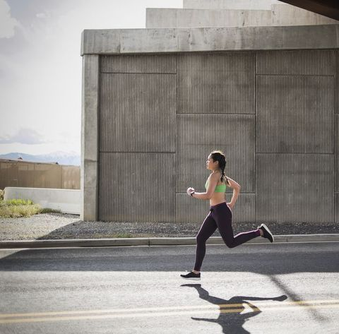 d7f944f57ca108 Young woman running under freeway overpass. Tony AndersonGetty Images. We  all want to know ...