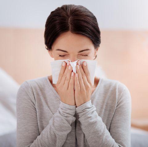 flu shot when sick