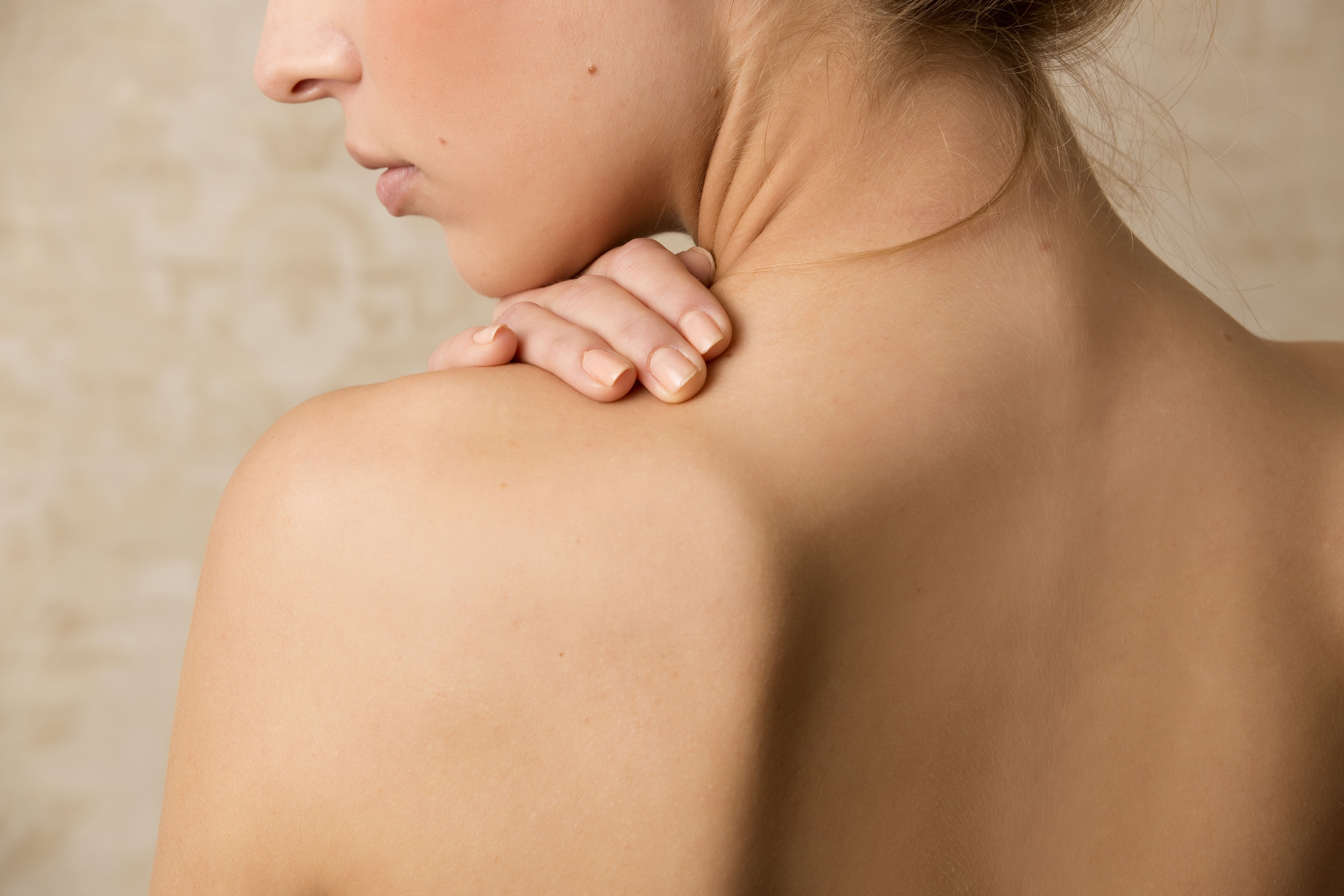 spots on my back after gym