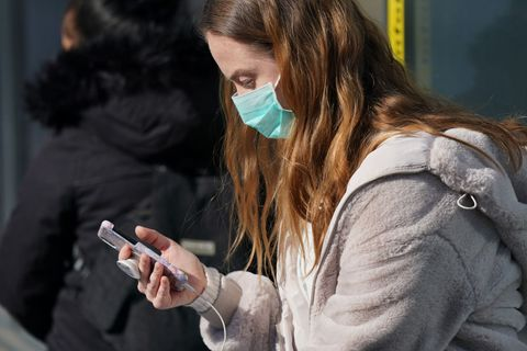 nationwide policy to wear face masks in shops and public transport goes into effect