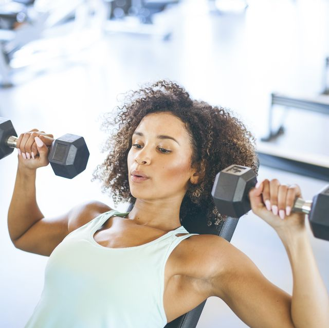 10 Best Free Weight Exercises For Women - Workout