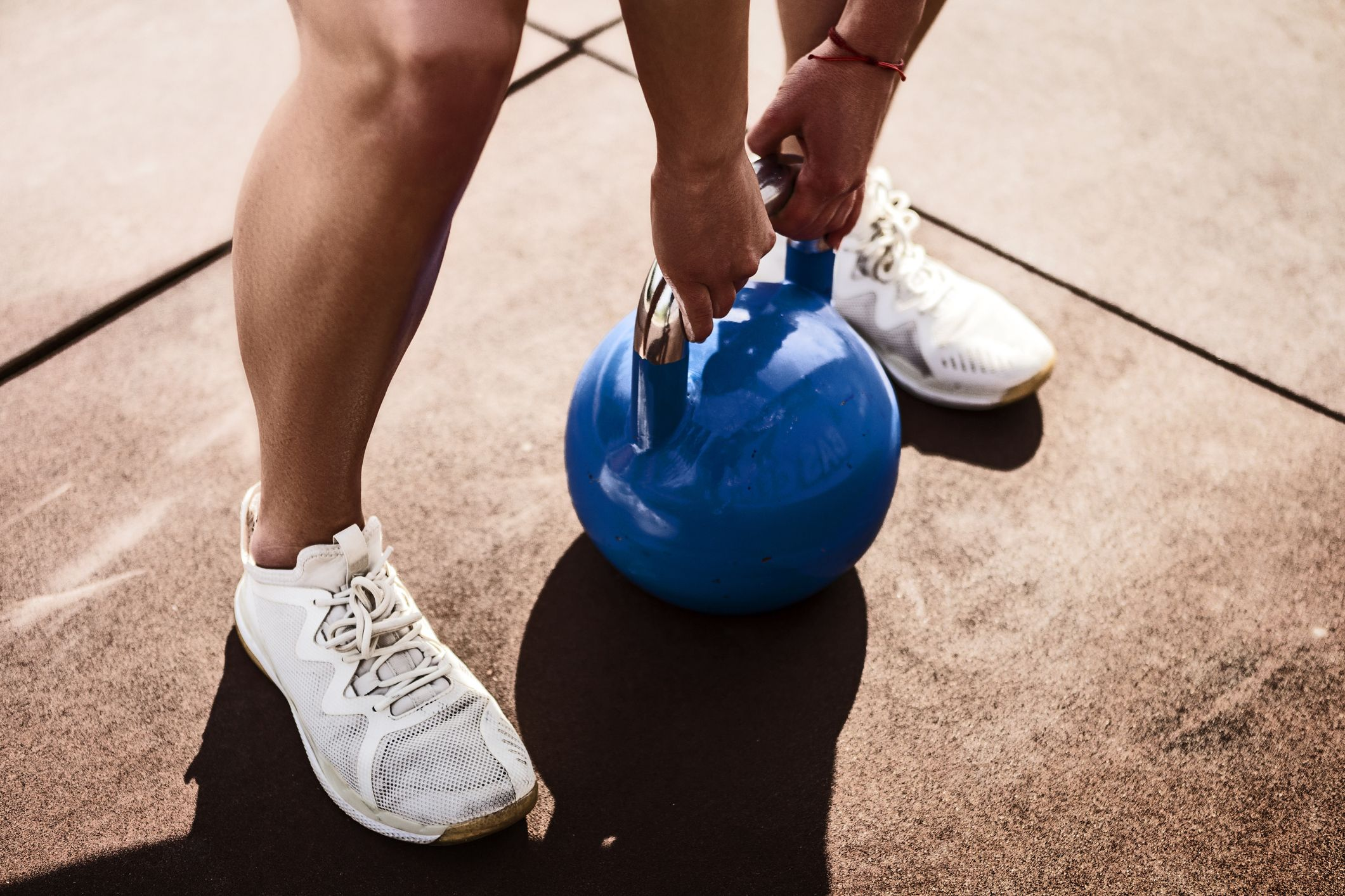 Try these simple kettlebell exercises for a stronger core