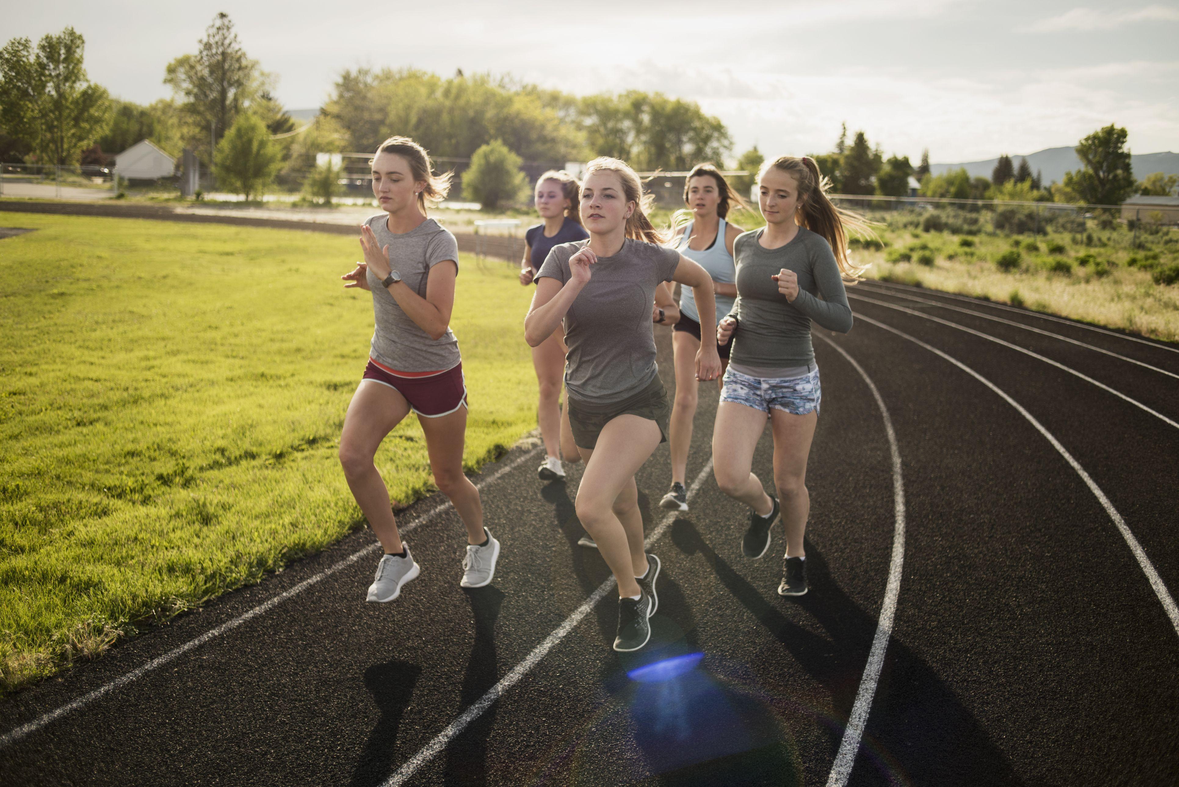 Kids Running - Tips for Girls Running During Puberty