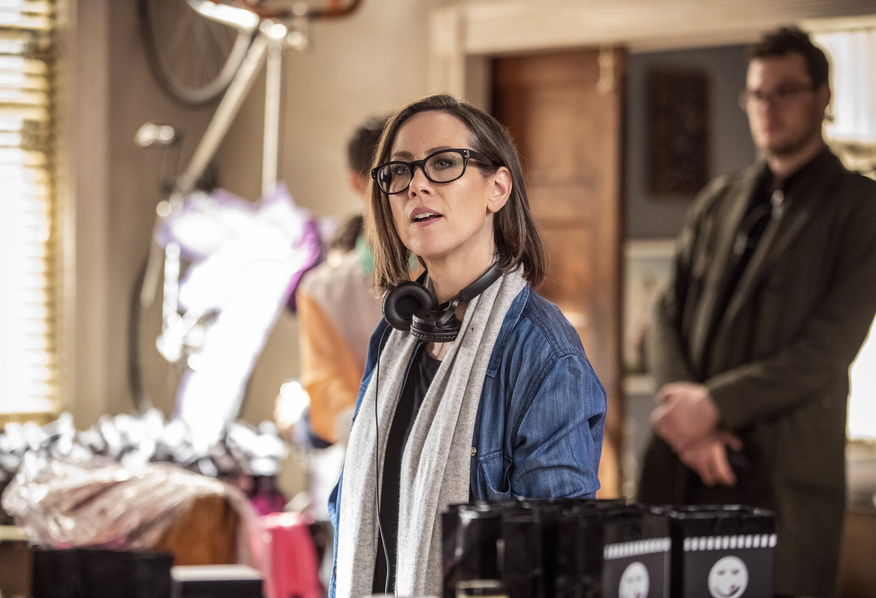 Miriam Shor directs an episode of Younger