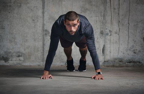 ejercicio de flexiones