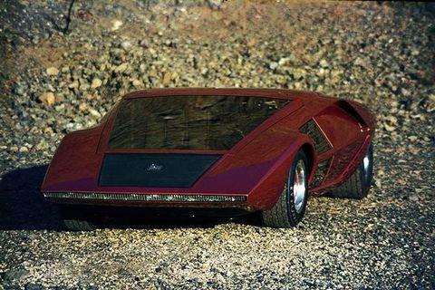 Bertone,Lancia Stratos Zero,Lancia,Lancia Startos,Villa d'Este,V4,Marcello Gandini,ストラトス・ゼロ,