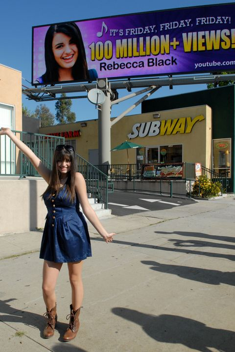 "Things You Totally Forgot Happened This Decade - Rebecca Black ""Friday"""