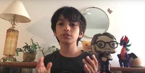 youtuber de 8 años