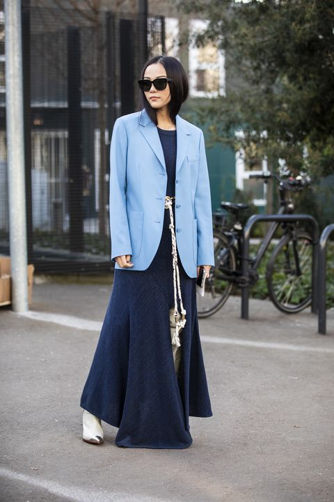 Street Style - Paris Fashion Week Womenswear Fall/Winter 2019/2020 : Day Four