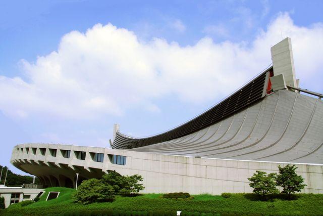 estadio yoyogi de tange kenzo en tokio