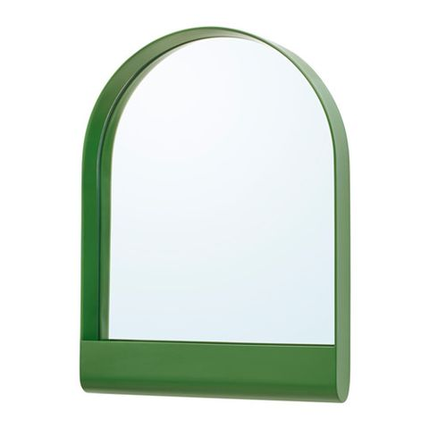 Green, Arch, Mirror, Rectangle, Architecture, Picture frame,