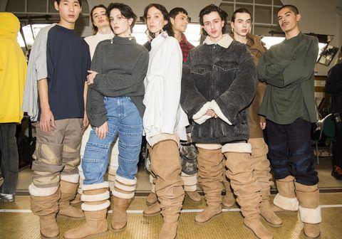 Social group, Fashion, Jeans, Fun, Footwear, Denim, Event,