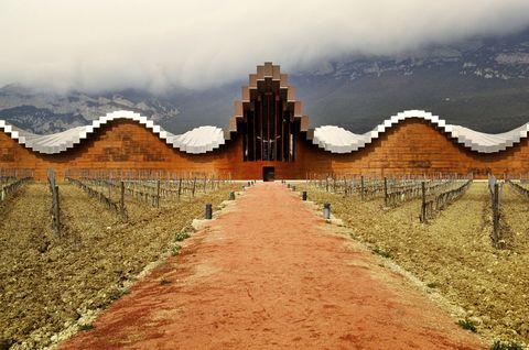 Bodega Ysios. De Santiago Calatrava ©L. Alberto
