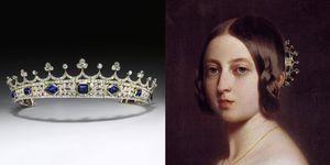 queen victoria coronet jewelry