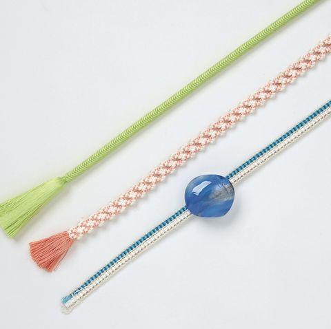 三分紐と夏用の帯〆