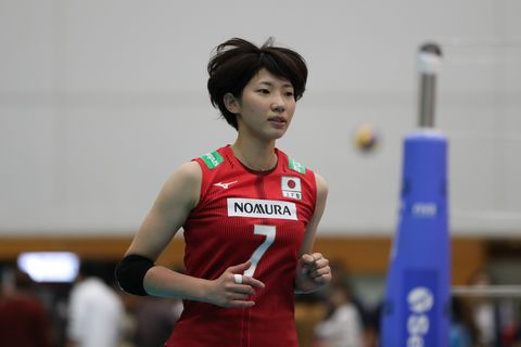 Japan v Chinese Taipei - Women's Volleyball International 石井 優希