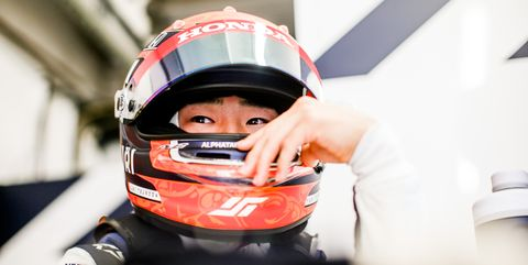 yuki tsunoda, actual piloto de alphatauri en fórmula 1