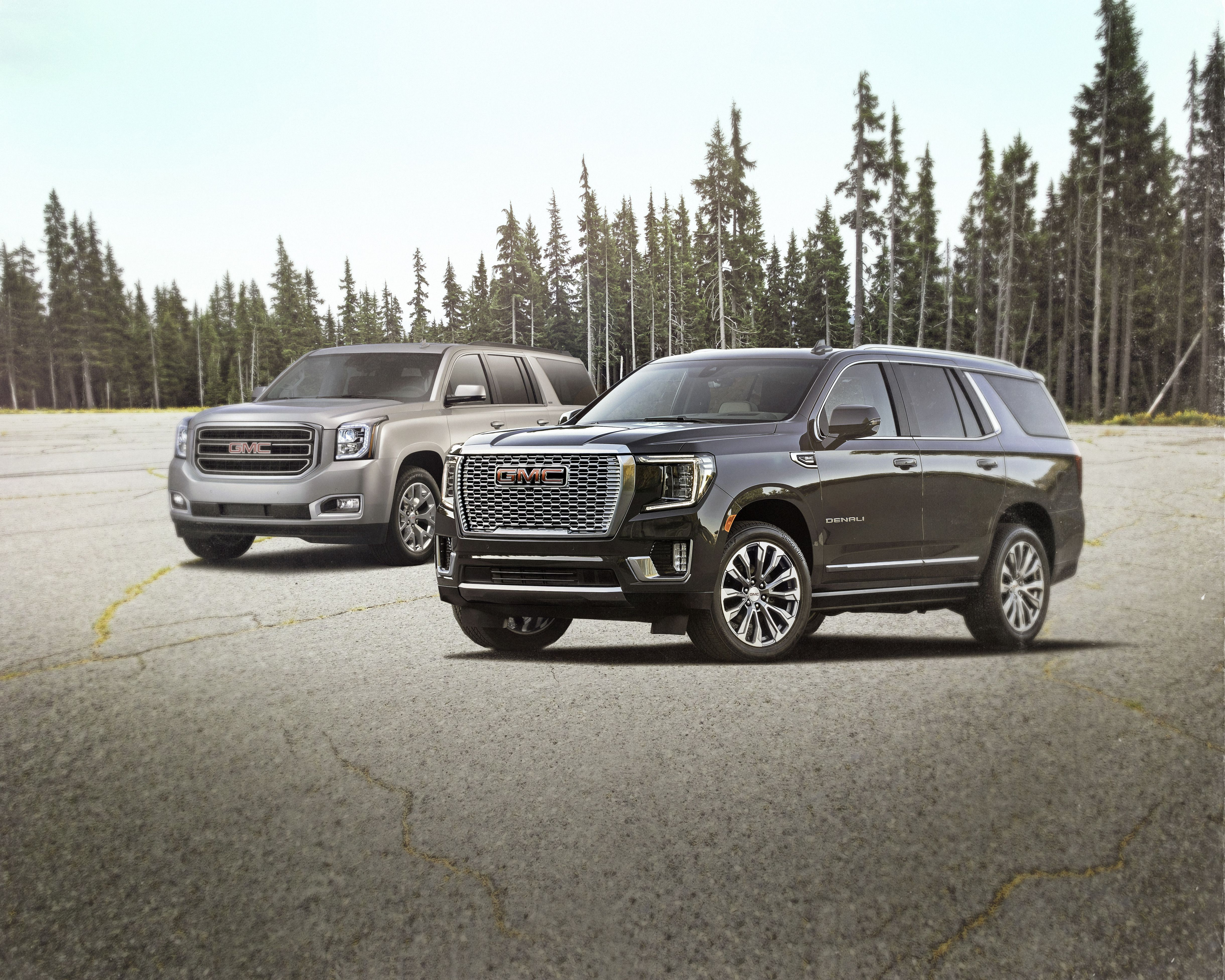 Gmc Yukon Then And Now Comparing The 2021 And 2016 Models