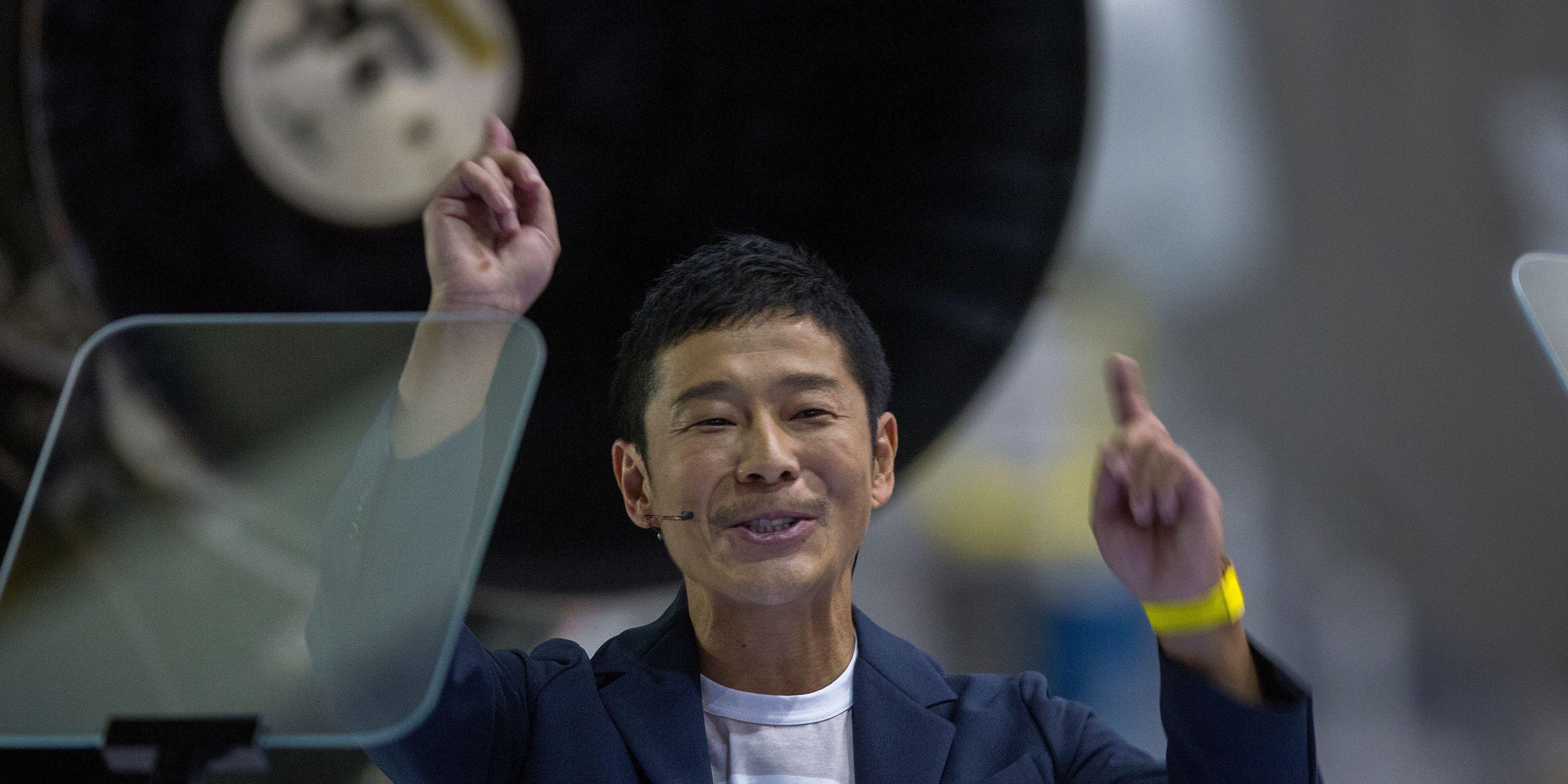 Yusaku Maezawa Space X