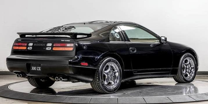 The Price This 1996 Nissan 300ZX Turbo Sold For Will Make Your Jaw Hit The  Floor