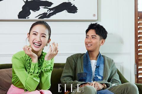 林依晨柯震東接受elle訪問宣傳《打噴嚏》