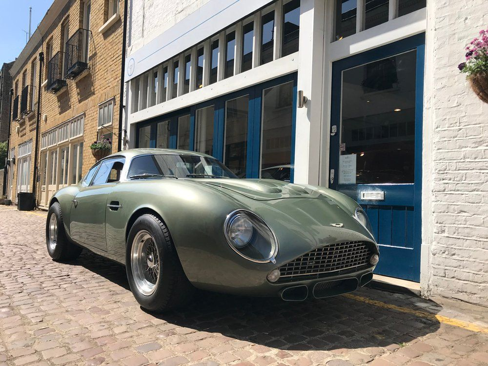This Beautifully Crafted Aston Martin DB4 GT Zagato Recreation Can Be Yours
