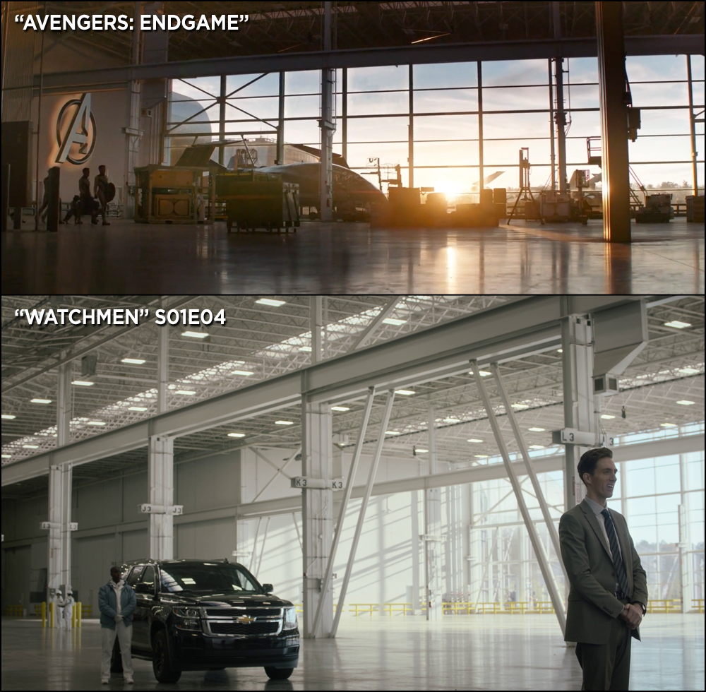 Avengers Endgame\u0027 and \u0027Watchmen\u0027 Were Filmed In the Same Place