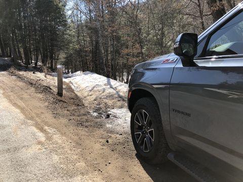 z71 snow test