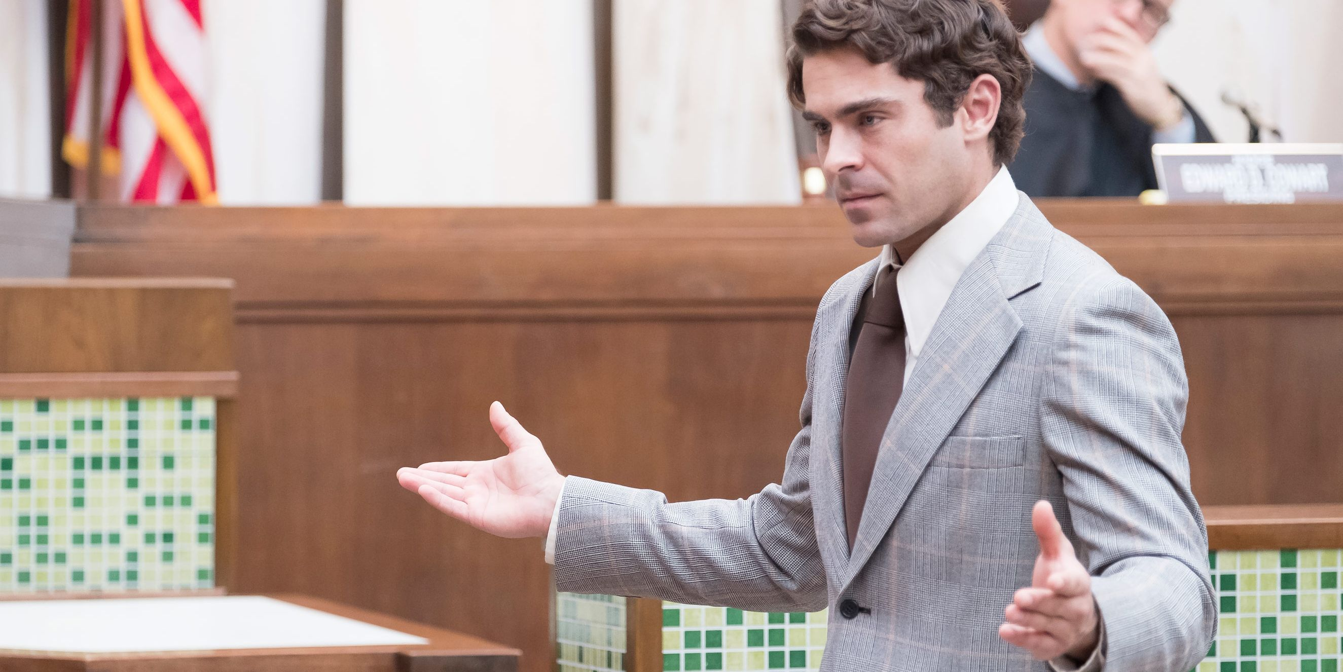 Zac Efron as Ted Bundy, Extremely Wicked Shockingly Evil and Vile