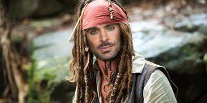 Zac Efron als Jack Sparrow