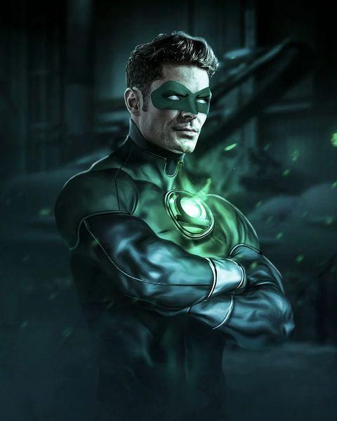 zac efron como superhéroe de comic