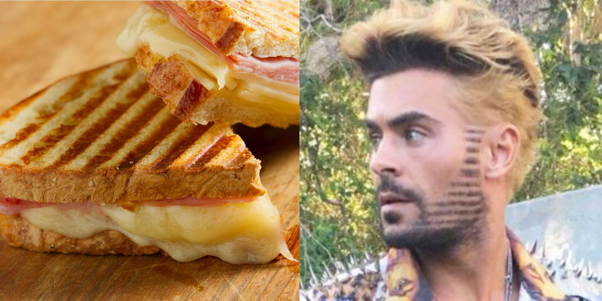 Zac Efron S New Haircut Was Literally Inspired By A Panini