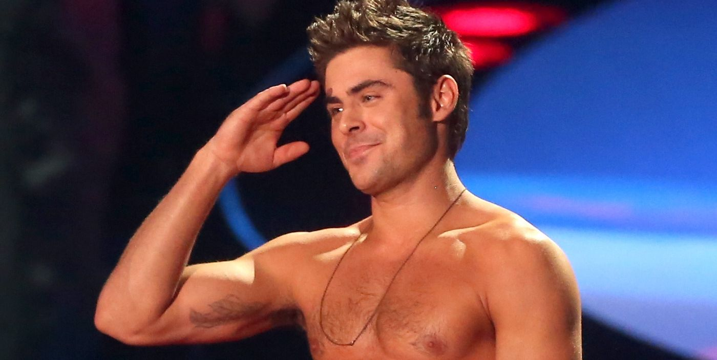 Is Zac Efron Shirtless In This Movie?