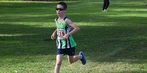 Zach Blum fast 9-year-old