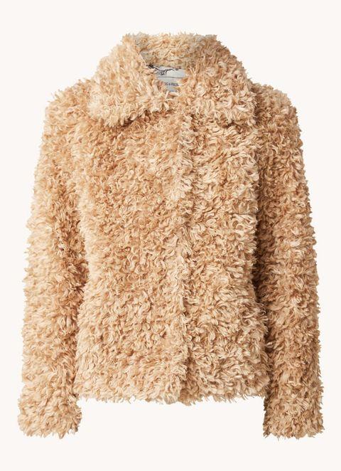 zadig en voltaire faux fur jas bijenkorf 2020 winter