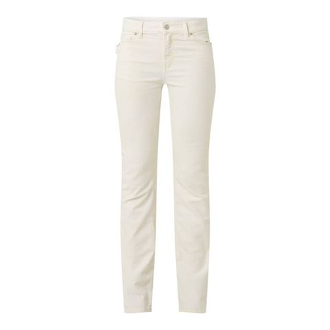 zadigvoltaire eclipse mid waist flared fit jeans met stretch
