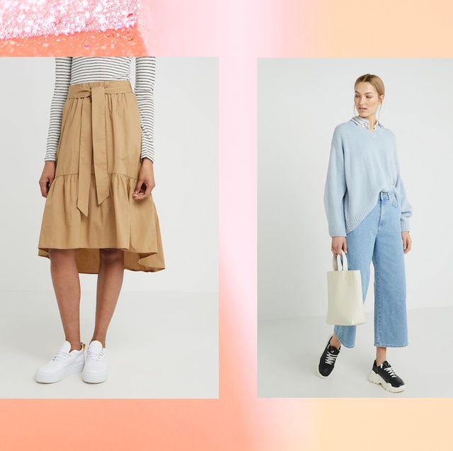 Clothing, White, Blue, Fashion, Denim, Footwear, Dress, Pink, Shoe, Outerwear,
