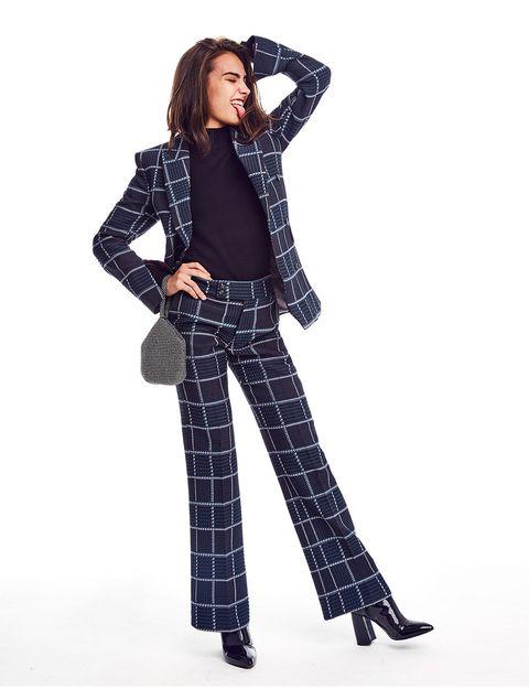 Imagen de chica con looks defiesta con prendas de Zalando