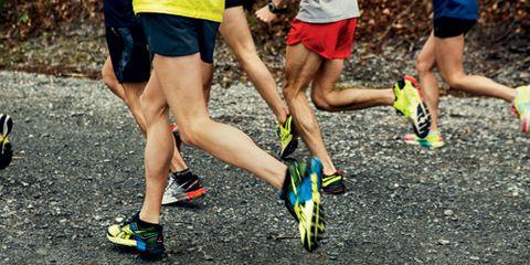 Runners at ZAP Running Camp