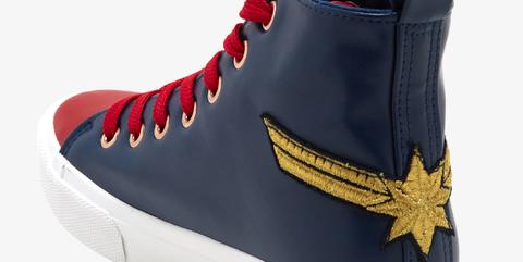 Capitana Marvel zapatillas